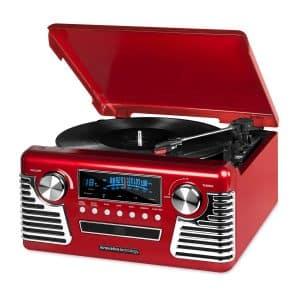 Victrola 50s Retro Vinyl Record Player