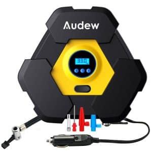 Audew Portable Air Compressor Pump, Auto Digital Tire Inflator