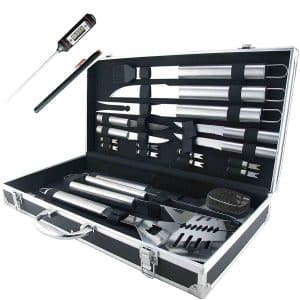Teikis 19-piece Grilling Accessories BBQ Tools Set