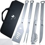 Kona BBQ Grill Tools Set with Case