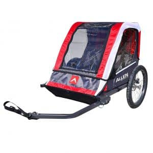 4. Allen Sports Deluxe Steel Bike Trailer