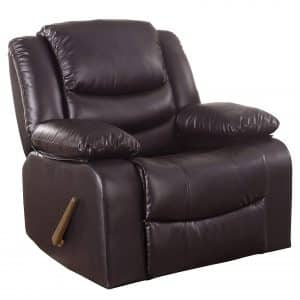 Divano Roma Furniture Rocker Recliner Chair