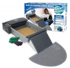 Smart Scoop Self Cleaning Litter Box