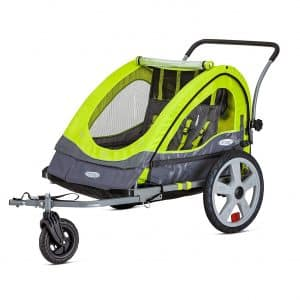 7. Instep Quick N EZ Double Bike Trailer