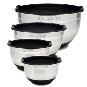 Top Rated Bellemain Stainless Steel Non-Slip Mixing Bowls