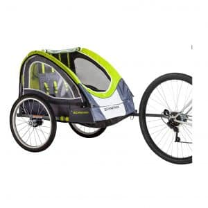 Schwinn Lumina Reflective Double Bicycle Trailer