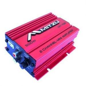 Mitzu Mit-75r 2 Channel Audio Amplifier