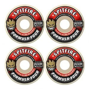 10. Spitfire Skateboard Wheels