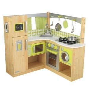 New Limited Kidkraft Wooden Green Corner