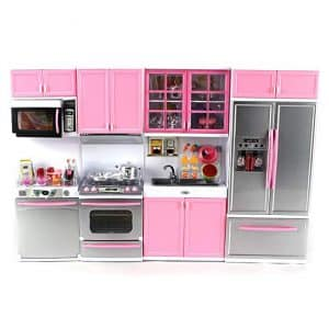 Deluxe Modern Kitchen' Battery Operated Toy