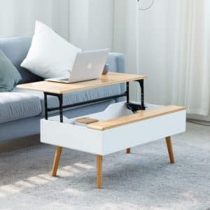 Zen'S Bamboo Lift Top Coffee Table