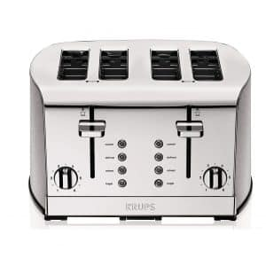 KRUPS 4-slot Stainless Toaster