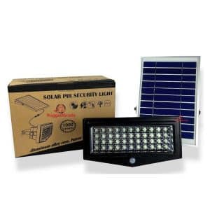 RuggedGrade Solar Flood Light