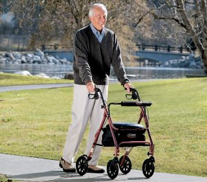 Rollator Walkers with Seat
