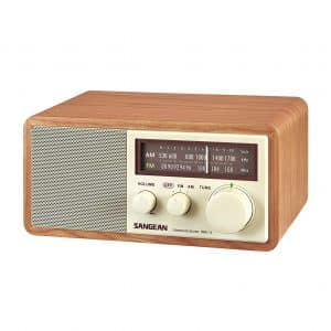 Sangean WR-11 AM/FM Table Top Analog Radio