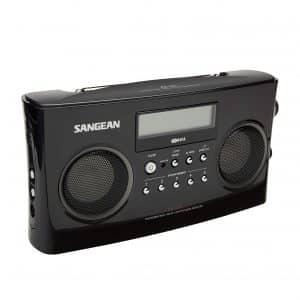 Sangean PR-D5BK AM/FM Portable Radio
