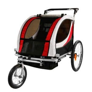 Clevr Red Bicycle Trailer