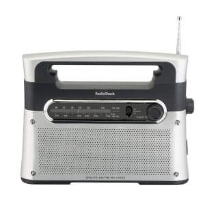 RadioShack Portable Tabletop Radio