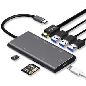 USB C Hub, Premium Type-C Adapter 7