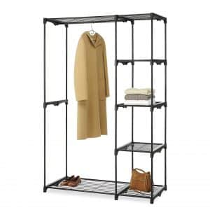 Whitmor Deluxe Double Rod Storage Organizer