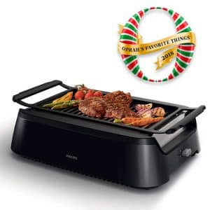 Philips HD6371/94 Smoke-less Indoor BBQ Grill