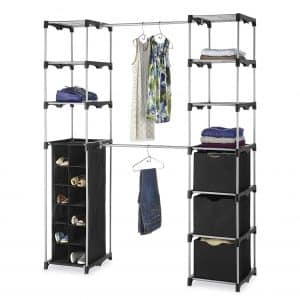 Whitmor Deluxe Adjustable Closet Organization System