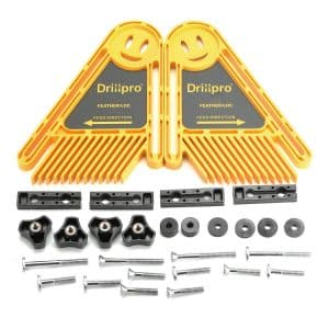 DRILLPRO Double Feather Boards