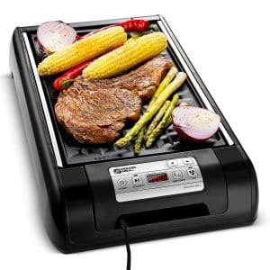 Magic Mill 2 in 1 Grill and Griddle