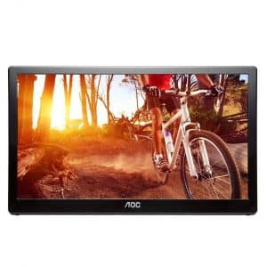 AOC e1659Fwu 16-Inch USB 3.0-Powered Portable LED Monitor