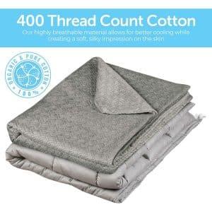 Vintap Premium Cooling Weighted Blanket