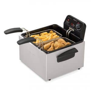 Presto Stainless Steel Deep Fryer