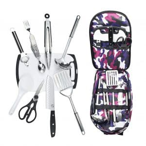 Wellmax Camping Cookware Set for Camping