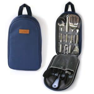 Life 2 Go Portable Camp Kitchen Utensil Organizer Set