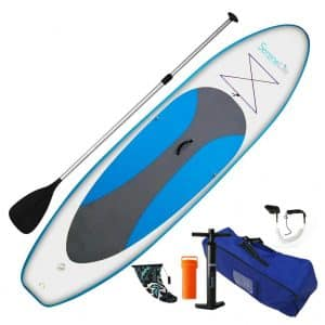 SereneLife Inflatable Paddle Board