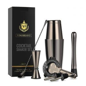 Boston Cocktail Shaker Bar Set By VinoBravo