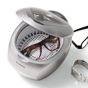 Brookstone Ultrasonic Jewelry Cleaner and DVD Cleaner