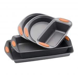 Rachael Ray Yum-o! Nonstick Bakeware 5-Piece Oven Lovin' Bakeware Set