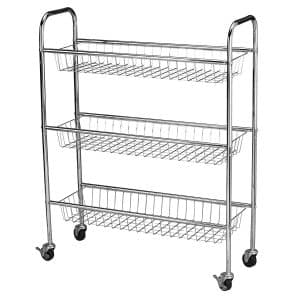 Household Essentials Metal Storage Carts