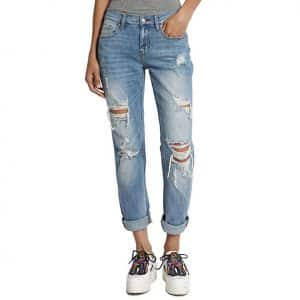 TheMogan Distressed Jeans