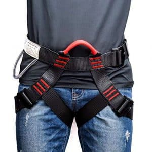 Weanas Thicken Waist Safety Climbing Harness for Mountaineering