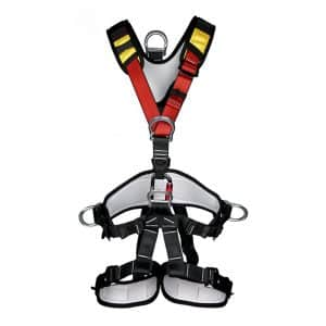 kissloves Full Body Outdoor Mountaineering Safety Climbing Harness