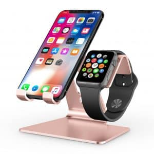 OMOTON 2-in1 Apple Watch Stand