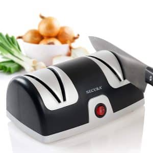 Secura Electric Knife Sharpener with 2-Stages of sharpening