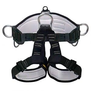 Xben Climbing Harness Rappelling Safety Harness Rock Climbing Harness