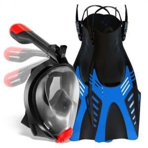 Cozia 2-Set Snorkel Mask