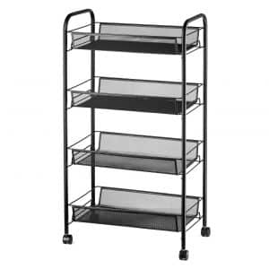 Halter 4-Tier Rolling Storage Cart