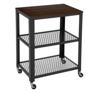 SONGMICS Rustic Storage Cart