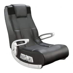Ace Bayou X Rocker 5143601 II Video Gaming Chair, Wireless, Black