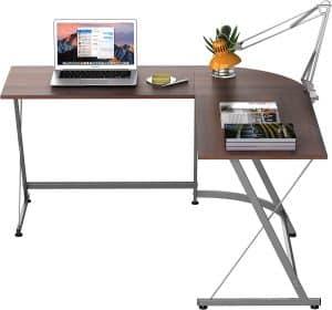 SHW L-Shaped Office Corner Desk