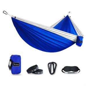 Kamileo Camping Hammock, Double Parachute Hammocks